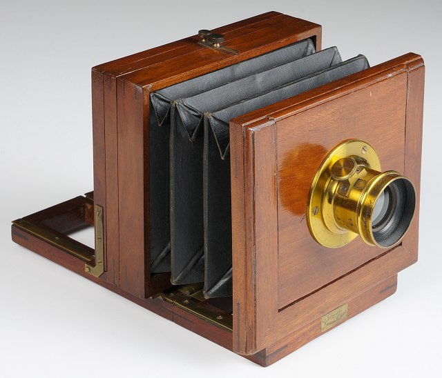 American (unknown) 1/4-plate 'presentation' camera, 1880s