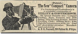 Early advertisement set the tone for the look of all future ads.